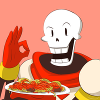 BONE APPETIT! *Papyrus* by Caguiat233