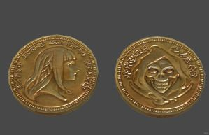 'Tales of Berseria' Eizen's coin XPS ONLY!!! by lezisell