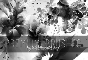 Premium vector brushes by cherryproductionsorg