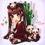 Panda is love! {GIFT} by SuuLore