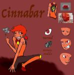 Gemstone Cinnabar (OLD VERSION) by Swallow-of-Fire8091