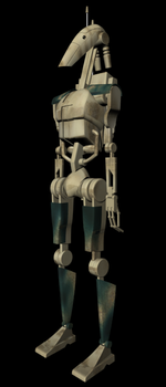 Trade Federation B1 Battle Droid by Unholy-Hatred