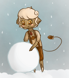 One Big Snowball by Faux-Storm