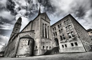 Zurich Grossmunster by Oldtoppy