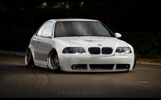BMW e46 M3 StancE by LinuhPT