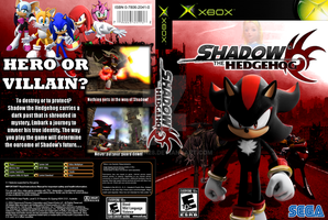 Shadow the Hedgehog Custom Box by Blziken28