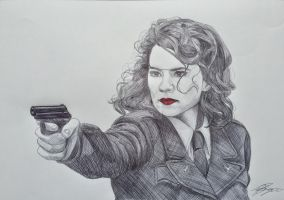 Peggy Carter from The First Avenger by the-other-sam