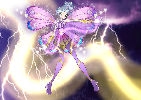 Athena Fairy Of Lightning Bloomix by XFlowerForceX