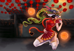 SMITE | Nemesis Chinese New Year by greenmaggot
