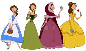 Belle outfits by DeedNoxious