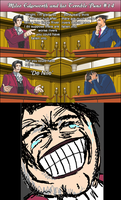 Miles Edgeworth and His Terrible Puns #14[SPOILER] by DarkMatter89