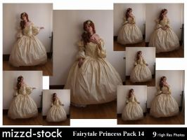 Fairytale Princess Pack 14 by mizzd-stock