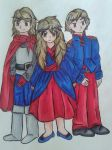 Andrindal Siblings by dawnflower8