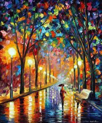 Before The Celebration 2 by Leonid Afremov by Leonidafremov