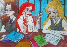 Disney in Hogwarts by Estelior
