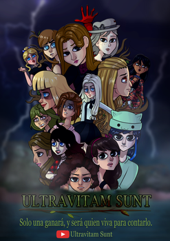 Ultravitam Sunt - Horror Animated Show - Poster by MiguelAmshelo