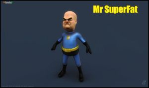 Mr SuperFat2 by patokali