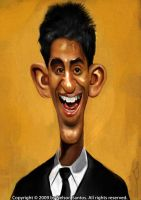 Dev Patel Caricature by nelsonsantos
