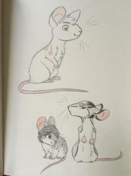 Mouse characters by weallstilldie
