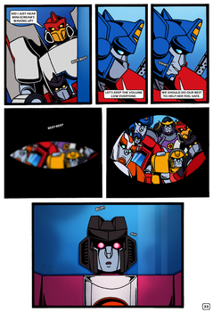Transformers: Bloodline PAGE 33 by KingRebecca