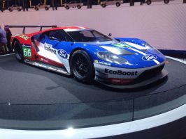 Ford GT Eco boost race car  by JoshuaCordova
