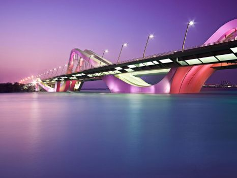 Sheik Zayed Bridge by alz3aabi