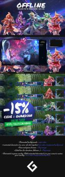 League of Legends - Guardian stream pack by h4nabi