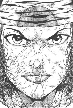 Crow Jane: In the Season of Revenge issue 4 cover by RevolverComics