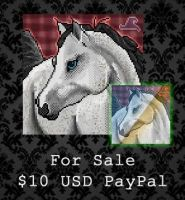 FOR SALE - Arabian Horse by PointyHat