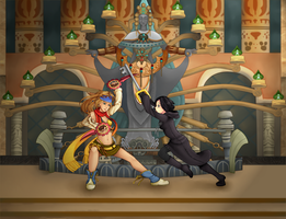 Dissidia Aces: Cycle 5 Round 1 by KaigaraProjects