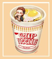 Gladio's Cup Noodles by fullmoonnightonigiri