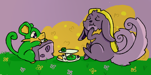 Eat up! : Monthly Theme PKMNation by SparkleBloomSwirl