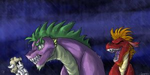 The dragon I used to be by Shimazun