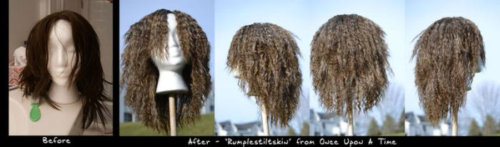 Wig Commission - Rumple by KamuiYamato