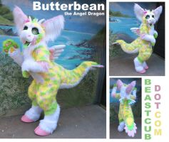 Butterbean the Angel Dragon by LilleahWest