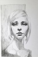 charcoal study by Neivan-IV