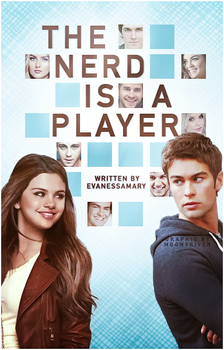 The Nerd Is A Player // Book Cover by moonxriver