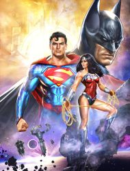 JLA SDCC by Dave-Wilkins