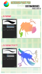 Medibang Paint Pro: Blending custom brushes by euphoriadOll
