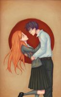 Harry and Ginny by kiz-chan