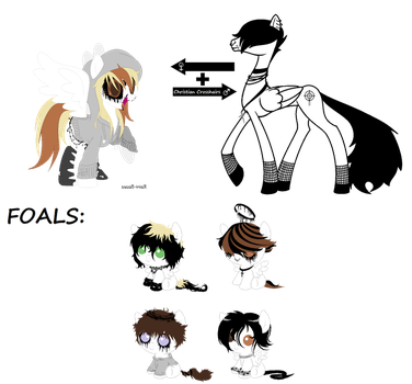 CC Foals for MoonCrystalArtist - CLOSED by SavannaEGoth