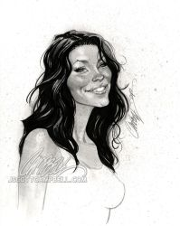 LOST sketch 'Kate' by J-Scott-Campbell