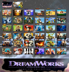 DreamWorks Animation Complete Folder Icon Pack by wchannel96