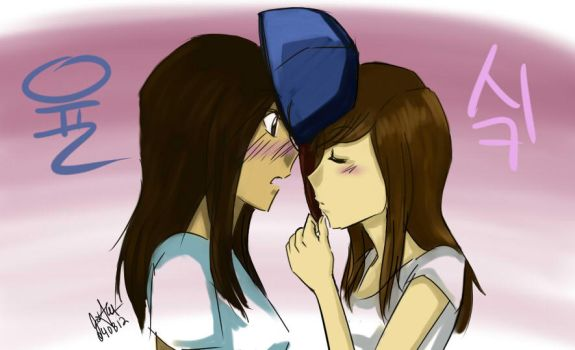 Yulsic - Kiss me through the hat by asasin8444