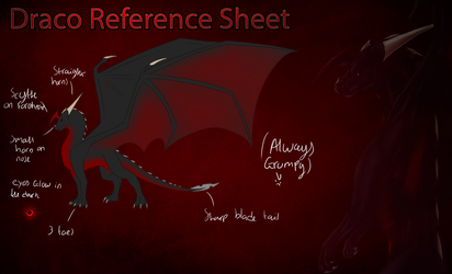 Substitute Draco reference Sheet by Nemomein