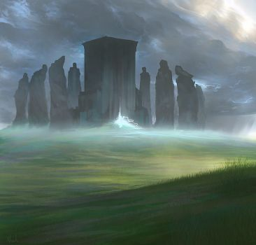 The Temple of Death by noahbradley