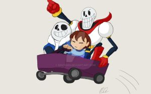 Undertale - All Aboard the Bandwagon! by EnvyQ00