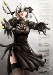 NieR:Automata - 2B! by INH99