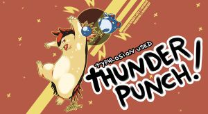 THUNDERPUNCH! by mother-child