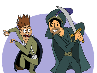 Total Drama : Chris Mclean and Don by ArtisticNaz